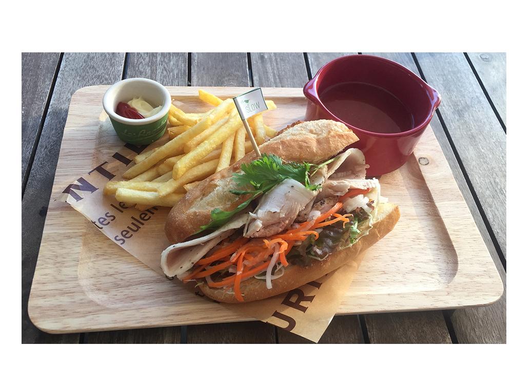 ベトナム風サンドイッチ-バインミー